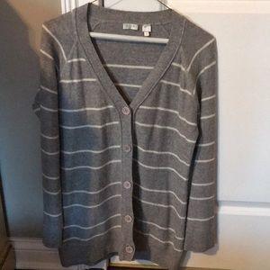 Aqua brand silk/cashmere blend Cardigan
